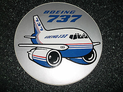Lot Of 9  (5 Different) Boeing Aviation Mint Condition Decals / Stickers