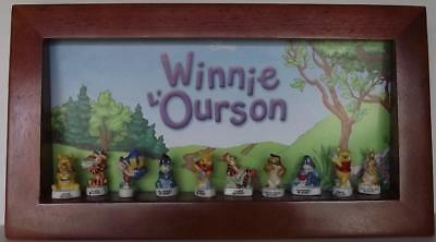 Coffret De 10 Feves / Winnie L'ourson / 2007 / Neuf Sous Blister