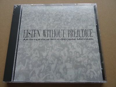 George Michael Wham Listen Without Prejudice Usa Promo Interview Cd Sealed Rare