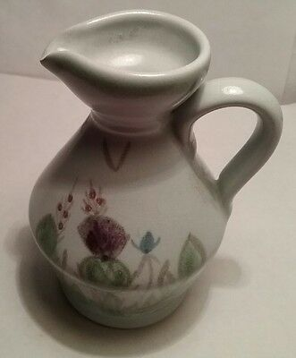 Buchan pottery small jug lovely thistle design