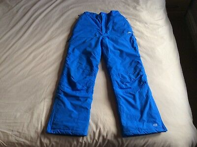 Unisex, Boys, Girls, Ski Pants, Waterproof Trousers, Age 9-10