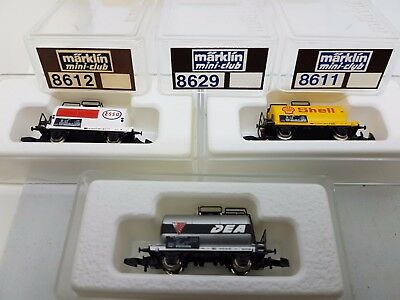 Märklin  Spur Z Mini Club 3 Wagen Set 8611  8612  8629