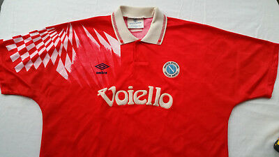 "Napoli Third Football Shirt 1991-93 (Umbro 46"") Used"
