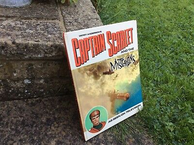 Gerry Anderson's Captain Scarlet And The Mysterons Story Book (1967).