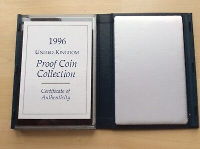1996 UK Proof Coin Set (£5 - 1p) with COA