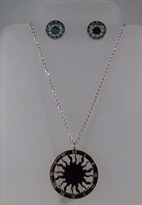 Mexican Necklace and earnings Set  measurement 1.5 inches