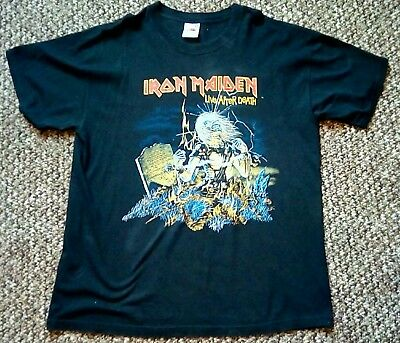 Iron Maiden XL T Shirt Live After Death