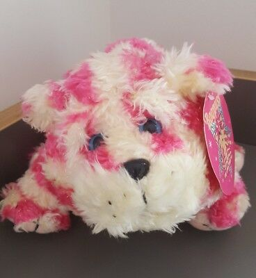 Retro Sparkle Glitter Fur Bagpuss Plush Toy Cat Doll 2002 Golden Bear Product