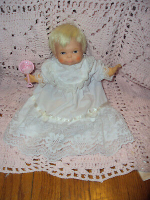 "IDEAL Vintage 9"" Newborn THUMBELINA Doll 50 YEARS OLD ADORABLE"