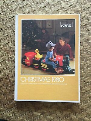 vintage 1980 montgomery ward CHRISTMAS WISH BOOK CATALOG Hard Copy