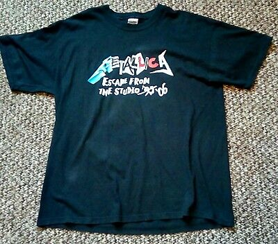 Metallica Download 2006 XL T Shirt Rare!