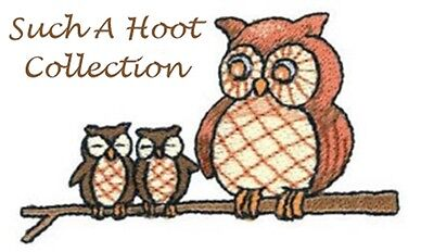 Such A Hoot Collection - Machine Embroidery Designs On Cd