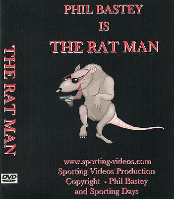 RATTING DVD - THE RATMAN - Phil Bastey - ratting,terriers,patterdale,whippet