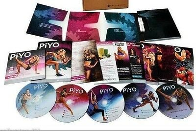 Brand*New Piyo Workouts Deluxe Full Set - Sealed
