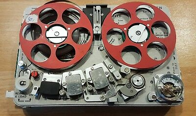 Complete Nagra SN spy recorder kit - original accessories