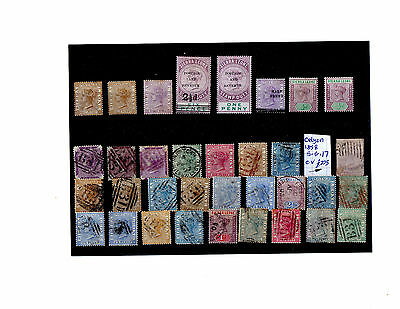 Sierra Leone Stamps Mint And Used High Cv
