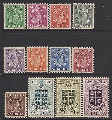 ST LUCIA  1949-50  part set to $1.20  MM