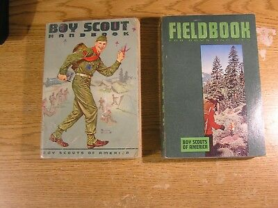 Two Vintage Boy Scout Handbooks