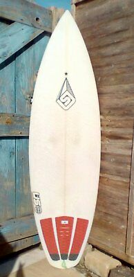 """5'8"""" Ultimate Surfboard. Shaped by Phil Hodge."""