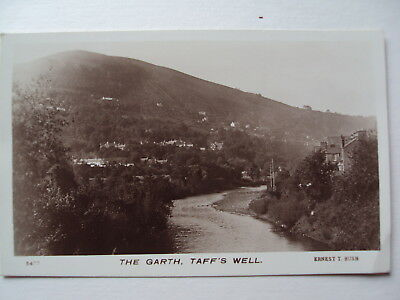 The Garth, Taff's Well - vintage sepia real photograph