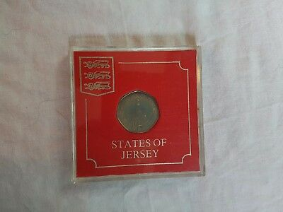 States of Jersey 20p boxed uncirculated