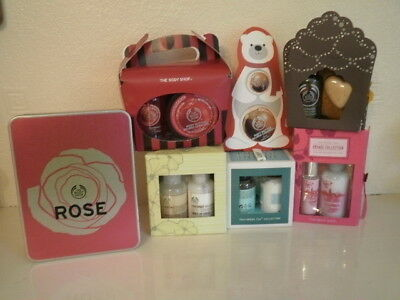 Body shop stocking fillers seven in total