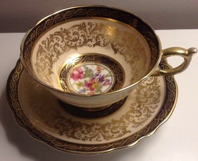 Antique Paragon Cup And Saucer Fine Bone China
