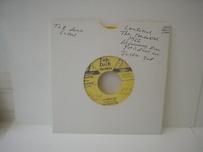 "The Skatlites - Confucius / Lonely And Blue Boy -  7"" Single - 1965 - Yellow"