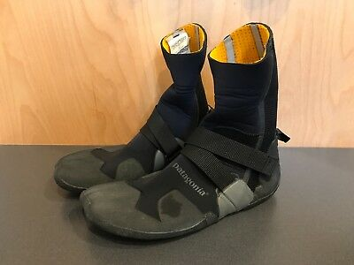 Men's Patagonia R3 Split Toe Booties Size 12 Lightly Used Surf SUP Paddle Winter