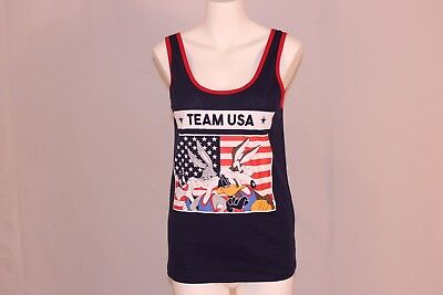 bd01c077cf61ea Freeze 24-7 Juniors  Looney Tunes Team USA Graphic Tank New With Tags