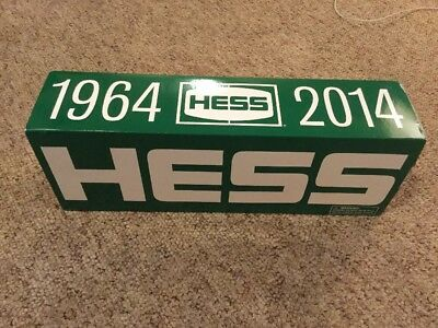 GREAT 2014 50th Anniversary Collector's Edition Hess Toy Truck New In  Box