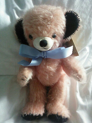 Vintage Merrythought Rose Coloured Cheeky Bear Limited Edition