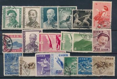 [108030] Japan Good lot of Very Fine used stamps
