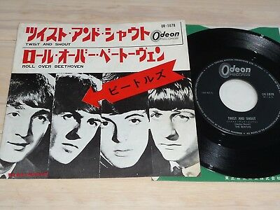 """7"""" Beatles   Twist and Shout         (Japan / Odeon)"""