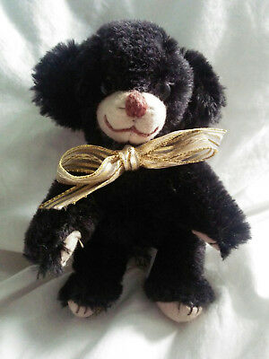 Vintage Merrythought Black Micro Cheeky Bear Limited Edition