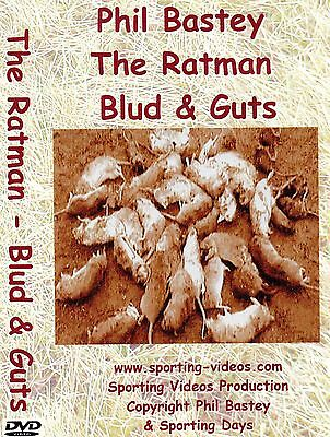 RATTING DVD - THE RATMAN - Blud & Guts - ratting,terriers,patterdale,whippet