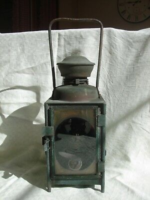 Ancienne Lampe Cheminots - S N C F -