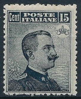 [37702] Italy 1906/11 Good stamp Very Fine MH see photo