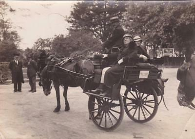 KILLARNEY THE SOUTHERN HOTEL HORSE CART MACMONAGLE ORIGINAL PHOTO IRELAND c1920