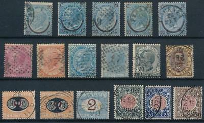 [37706] Italy Good lot of Very Fine used stamps