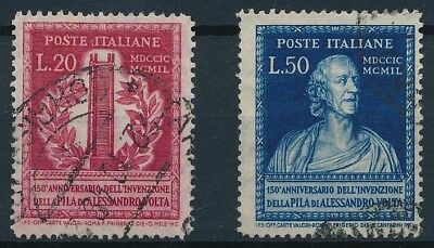 [37717] Italy 1949 Good set of Very Fine used stamps