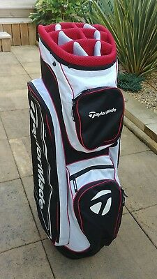 TAYLORMADE golf cart bag, latest style, brand new with tags