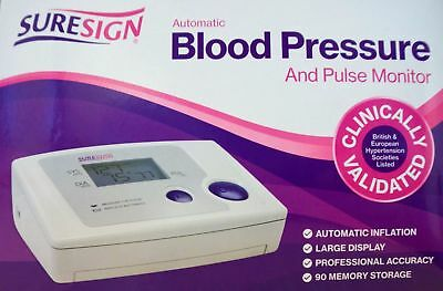 Suresign Automatic Blood Pressure /Pulse Monitor