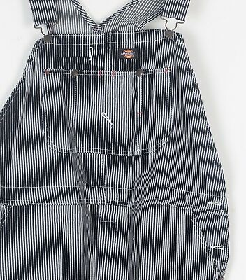 DICKIES Dungarees XL Blue Hickory Denim TALL Vintage W40 W42 L32 (93C)