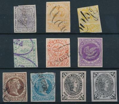 [38140] Colombia Good lot classical stamps VF Mint no gum/used
