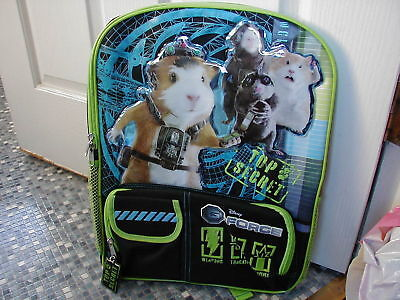 Disney Store G FORCE Backpack BRAND NEW! VERY RARE