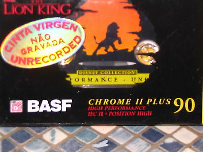 Disney The Lion King Basf Blank Cassette Tape Collectable Brand New Very Rare
