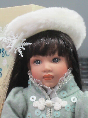 "Helen Kish Four Seasons Winter Dressed 16"" Doll"