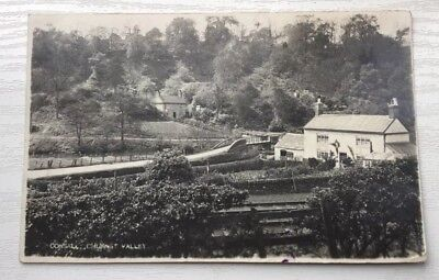 Consall,churnet Valley Rp Postcard Staffordshire.posted