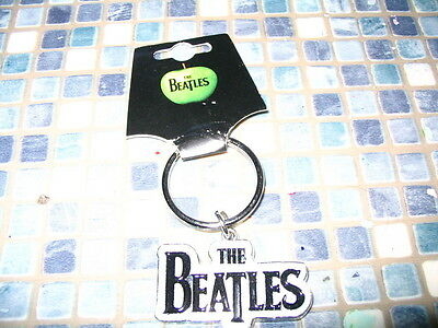 The Beatles Metal Keyring Brand New
